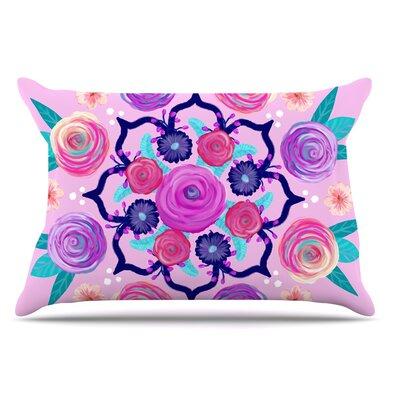 Anneline Sophia Expressive Blooms Mandala Floral Pillow Case