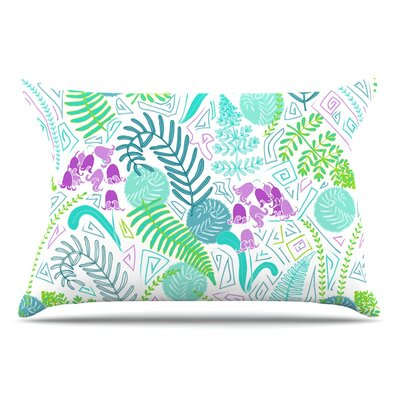 Anneline Sophia Fern Forest Pillow Case