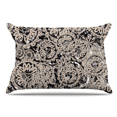 Akwaflorell Snowflakes Geometric Pillow Case