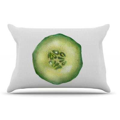Theresa Giolzetti Cucumber Pillow Case