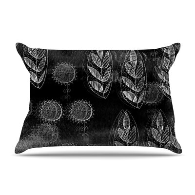 Marianna Tankelevich Summer Night Pillow Case Color: Black/Gray