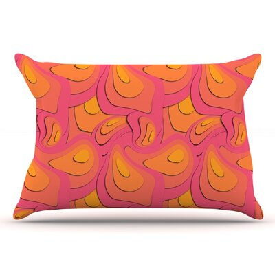 Akwaflorell Fly Away Sadness Abstract Pillow Case