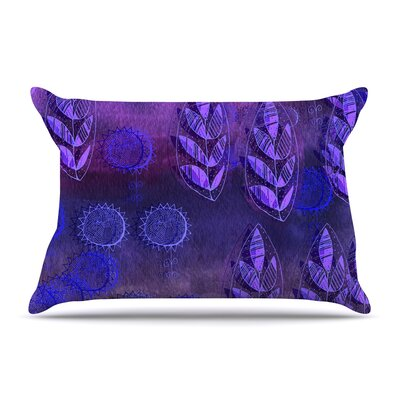 Marianna Tankelevich Summer Night Pillow Case Color: Purple/Lavender
