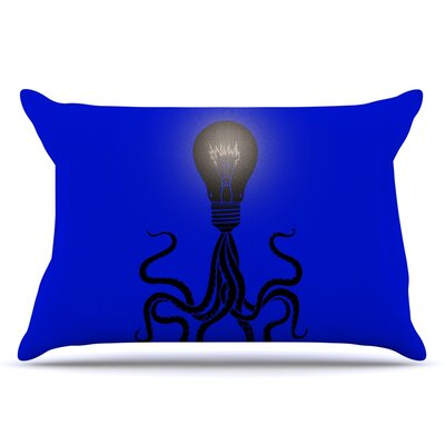 BarmalisiRTB Octopus Bulb Tentacles Pillow Case
