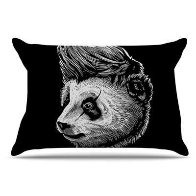 BarmalisiRTB Funky Panda Pillow Case