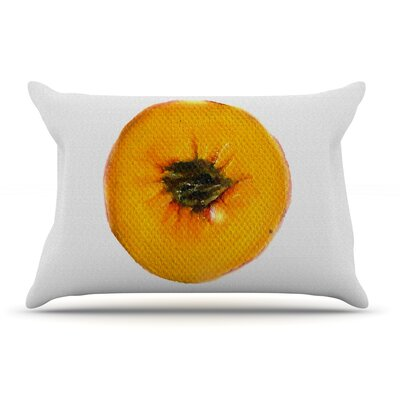 Theresa Giolzetti Peach Pillow Case