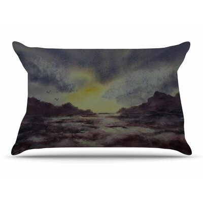 Cyndi Steen Crashing Waves Pillow Case