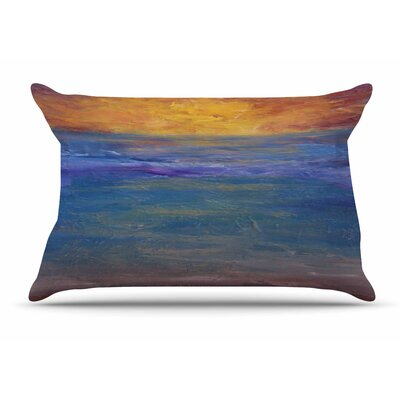 Cyndi Steen Sky On Fire Pillow Case