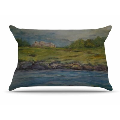 Cyndi Steen Castle Ruins Pillow Case