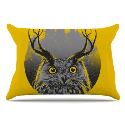 BarmalisiRTB Majesty Owl Pillow Case