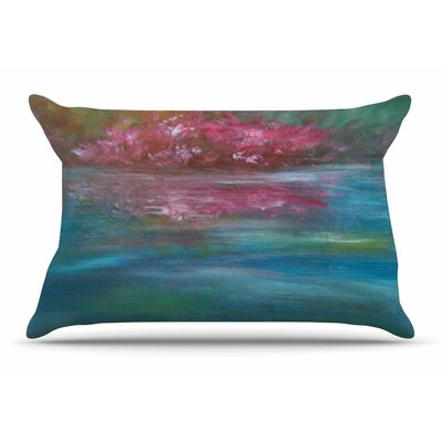 Cyndi Steen Bougainvillea Reflections Pillow Case