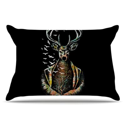 BarmalisiRTB There Is No Place Deer Pillow Case