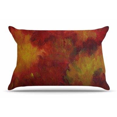 Cyndi Steen Winsor Flower Pillow Case