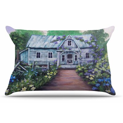 Cyndi Steen Ivy Cottage Again Pillow Case