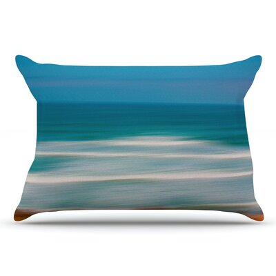 Ann Barnes Sun And Sea Pillow Case
