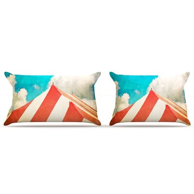 Ann Barnes The Big Top Pillow Case