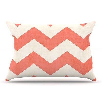 Ann Barnes 'Vintage Coral' Pillow Case