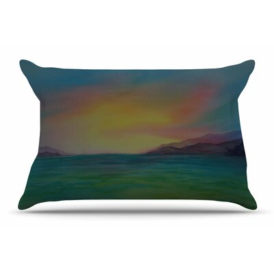Cyndi Steen ChristyS Island Pillow Case