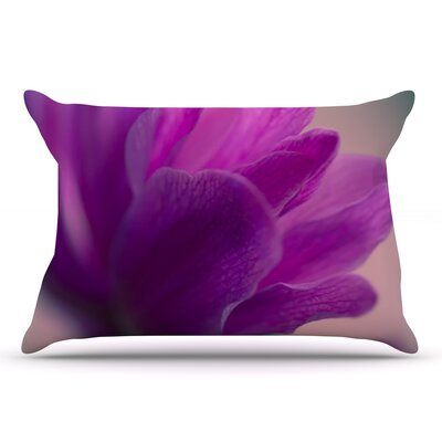 Ann Barnes Standing Ovation Flower Pillow Case