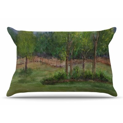 Cyndi Steen A Storm At The Strand Travel Pillow Case