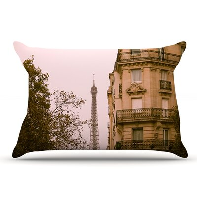 Ann Barnes 'Lady Beckons' Blush Pillow Case