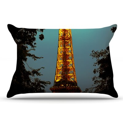 Ann Barnes 'Tour Eiffel' Pillow Case