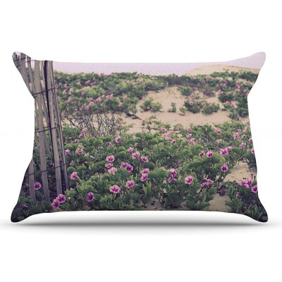 Ann Barnes Morning At The Beach Flowers Pillow Case