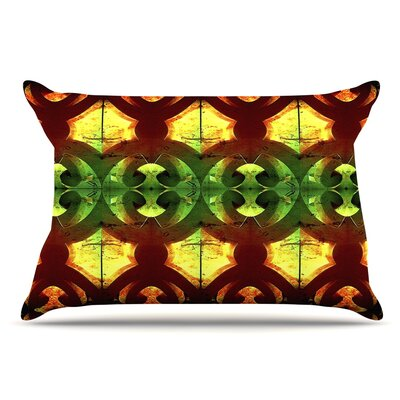 Anne LaBrie Tribal Marsala Pillow Case