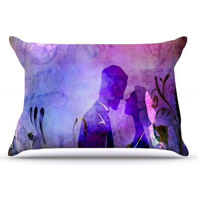 alyZen Moonshadow Couple In Love Pillow Case