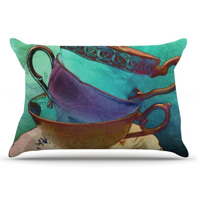 alyZen Moonshadow Mad Hatters T-Party I Pillow Case
