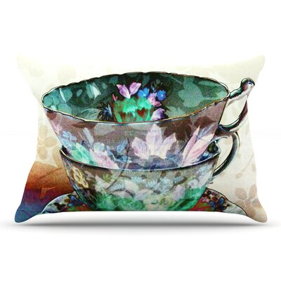 alyZen Moonshadow Mad Hatters T-Party Iii Abstract Pillow Case