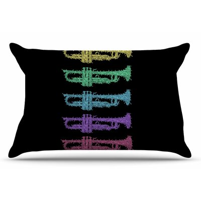 Barmalisirtb Trumpet Arch Music Pillow Case
