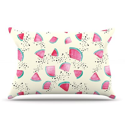 Danii Pollehn Watermelon Food Pillow Case