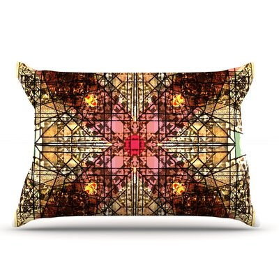 Danii Pollehn Viereck Geometric Pillow Case