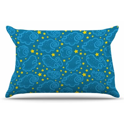Yenty Jap Starry And Cloudy Night Pillow Case