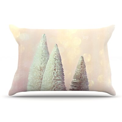 Sylvia Cook Bottle Brush Trees Pillow Case
