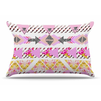 Danii Pollehn Modern Stripes Geometric Pillow Case