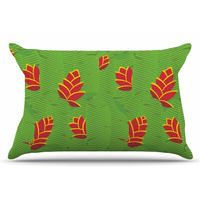 Yenty Jap Heliconia Pillow Case