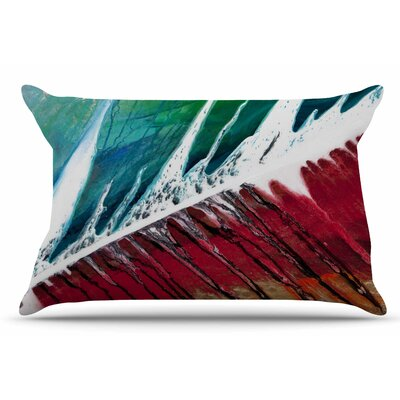 Steve Dix Splish Splash Pillow Case