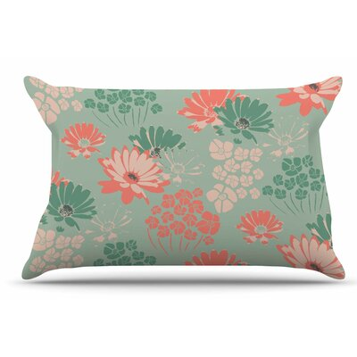 Zara Martina Mansen Wild Gatherings Coral Pillow Case
