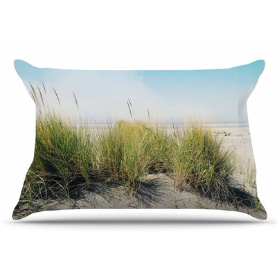 Sylvia Cook Dune Grass Coastal Photography Pillow Case