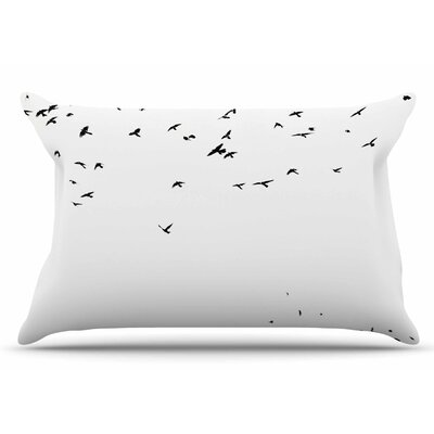Sylvia Coomes The Birds Pillow Case