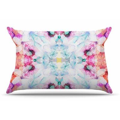 Danii Pollehn Hibiscus Kaleidoscope Pillow Case