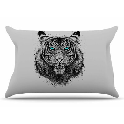 BarmalisiRTB Tiger Gaze Pillow Case