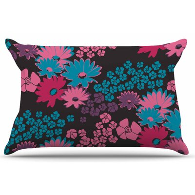 Zara Martina Mansen Berry Color Bouquet Pillow Case