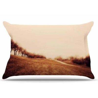 Sylvia Coomes Minimalist Autumn Landscape Pillow Case