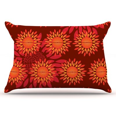 Yenty Jap Sunflower Season Pillow Case