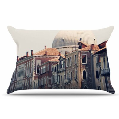 Sylvia Coomes Venice 5 Travel Vintage Pillow Case