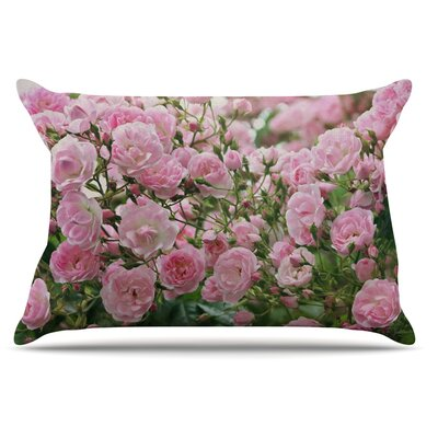 Sylvia Cook The Fairy Rose Floral Pillow Case