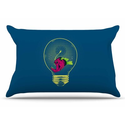 BarmalisiRTB Anglerfish Bulb Pillow Case